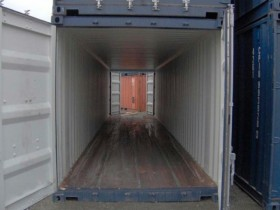 Schiffscontainer 40' ISO DP...